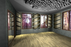 Studio With Radius Diffusers